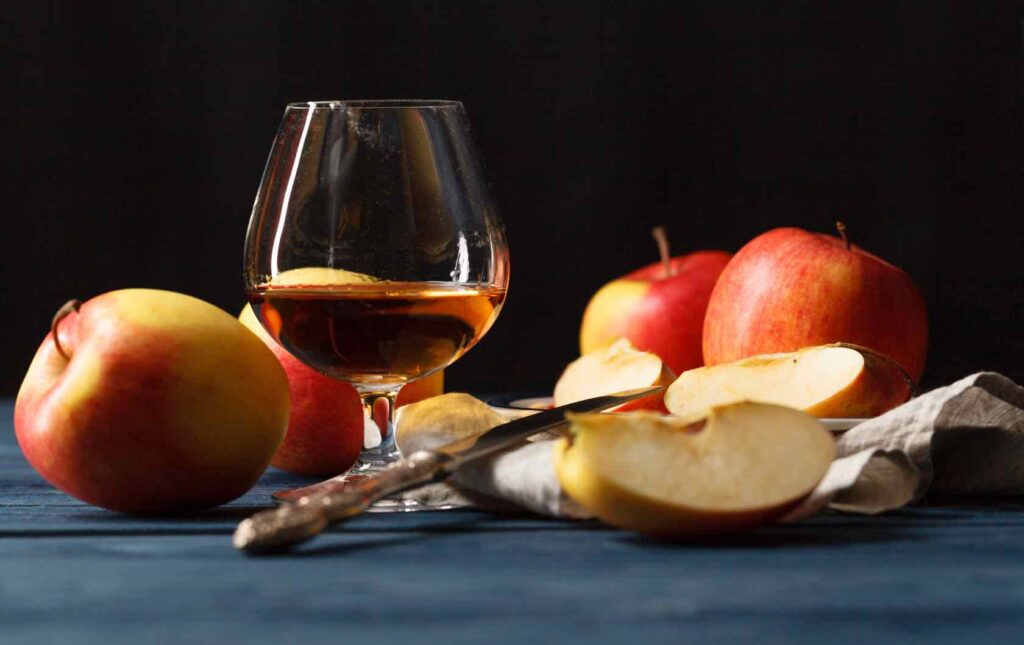 Calvados French spirits