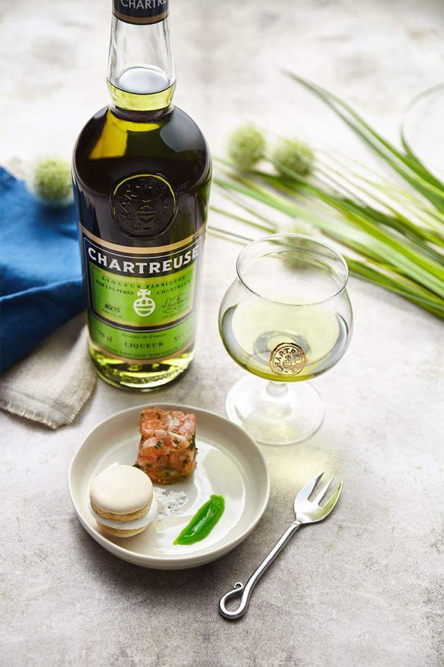 Chartreuse French spirits