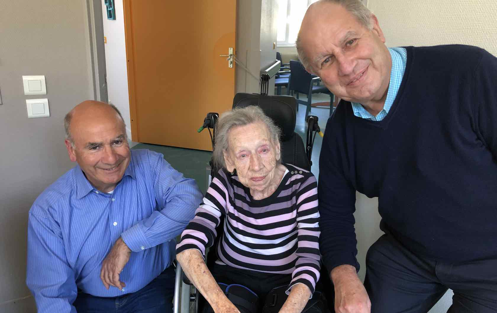French Family Update: Ninette Turns 102