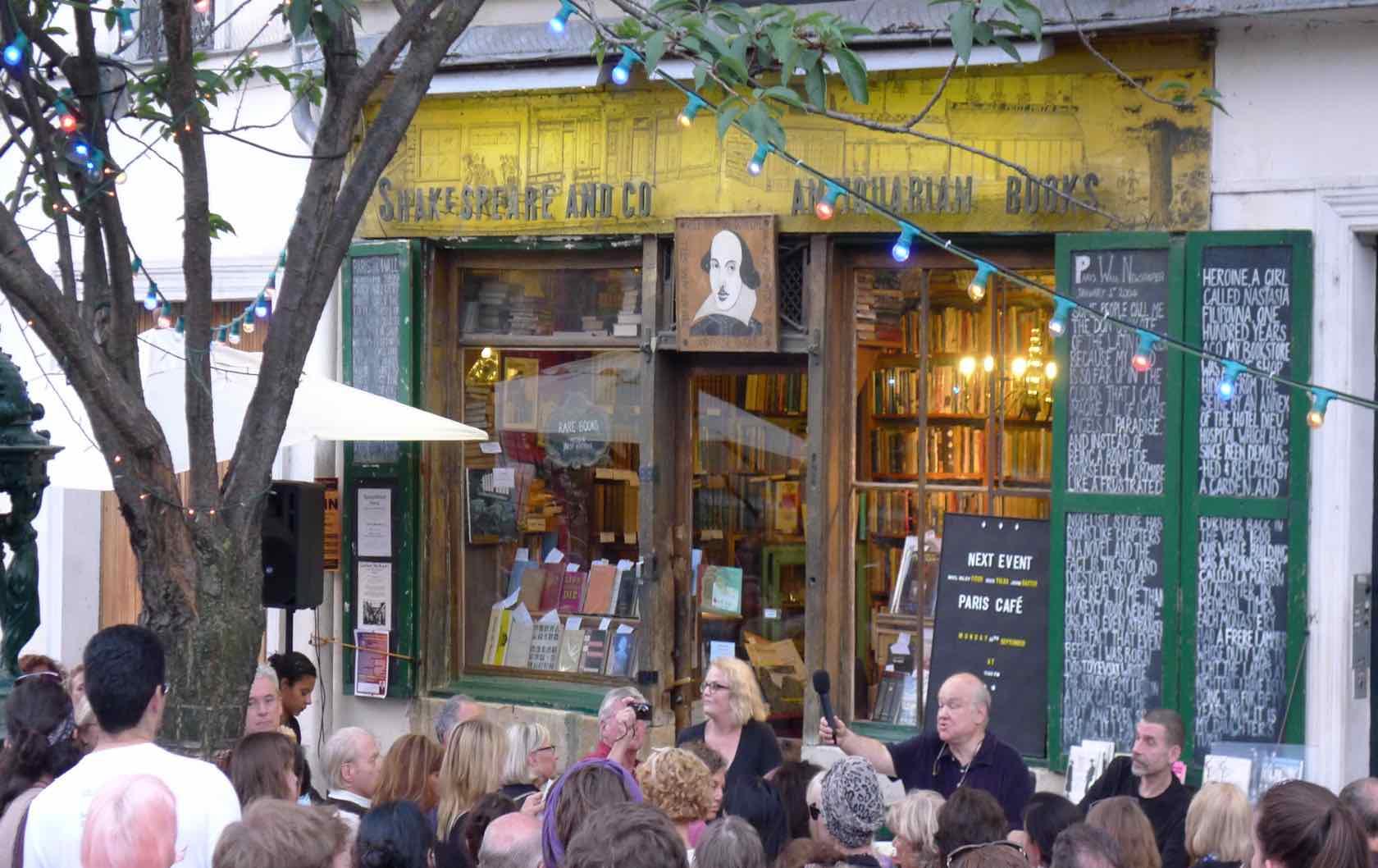 Summer Walks in Paris Shakespeare & Co