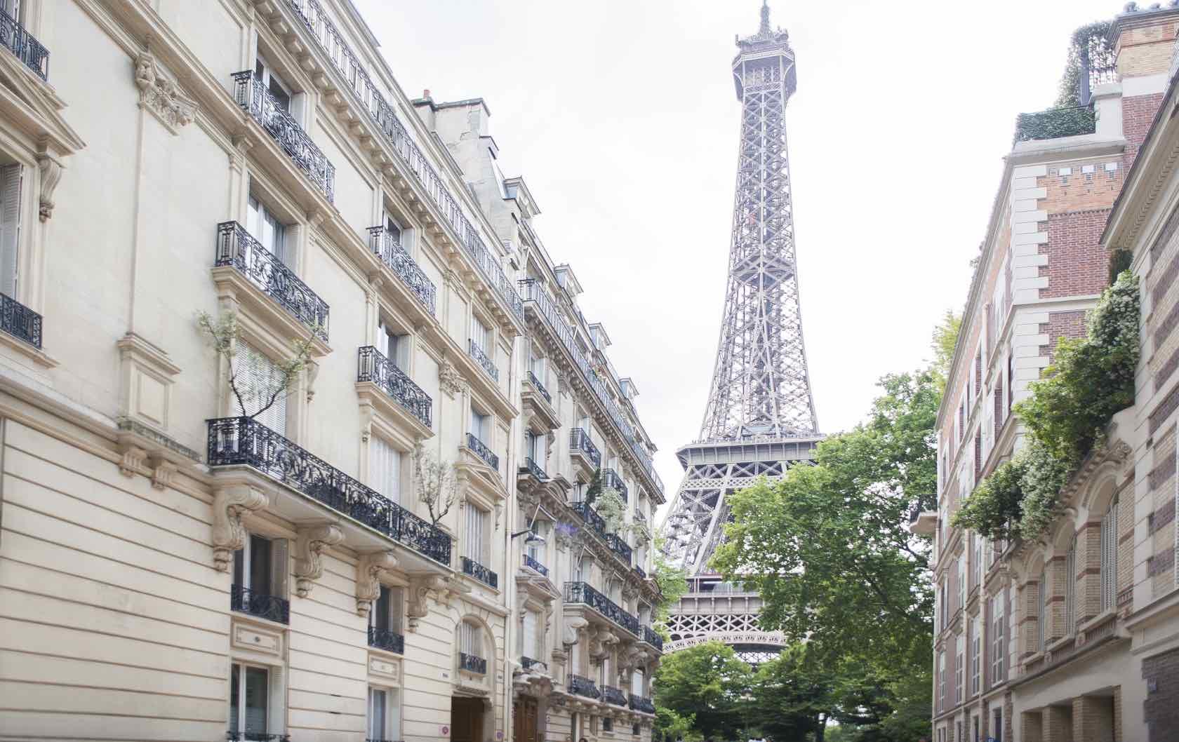 Summer Walks in Paris Eiffel Tower