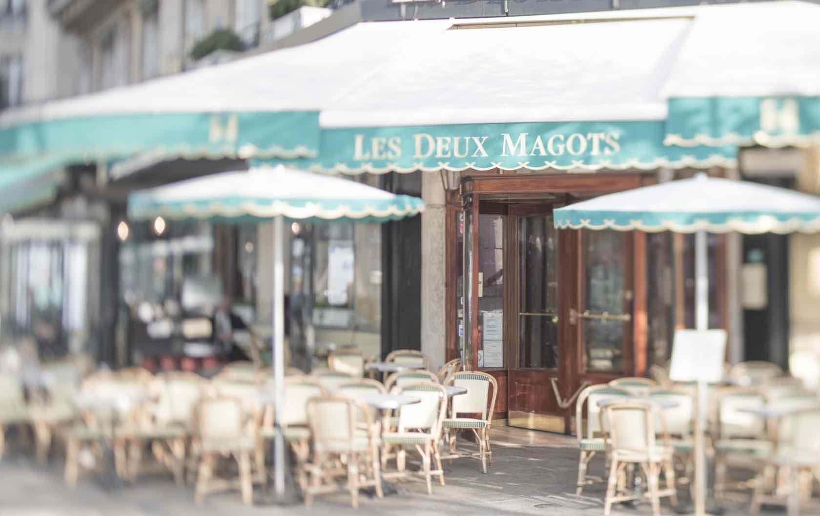Le Deux Magot Paris Summer Walks in Paris