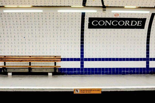 Concorde Paris Metro