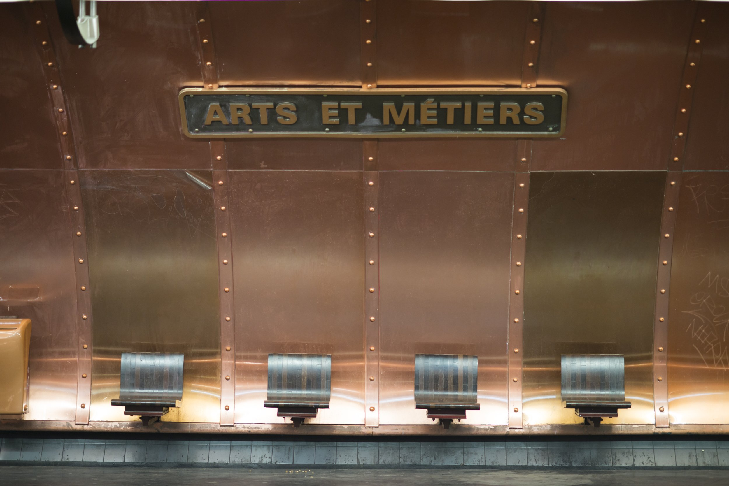 Arts et Metiers Paris Metro Station