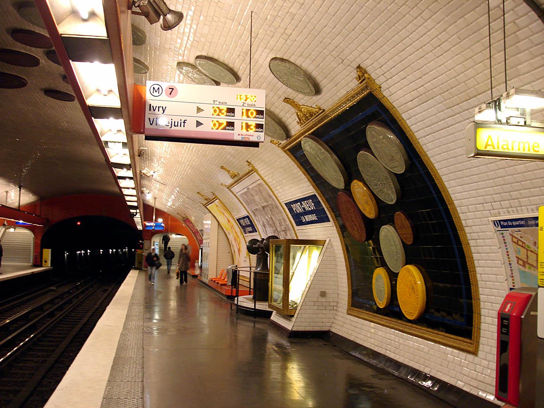 Pont Neuf Paris Metro Station