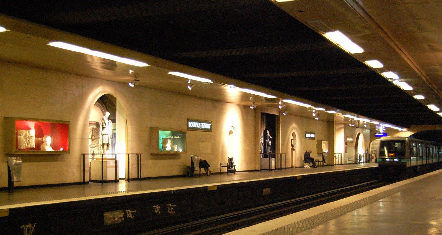Louvre-Rivolli Paris Metro Staiton