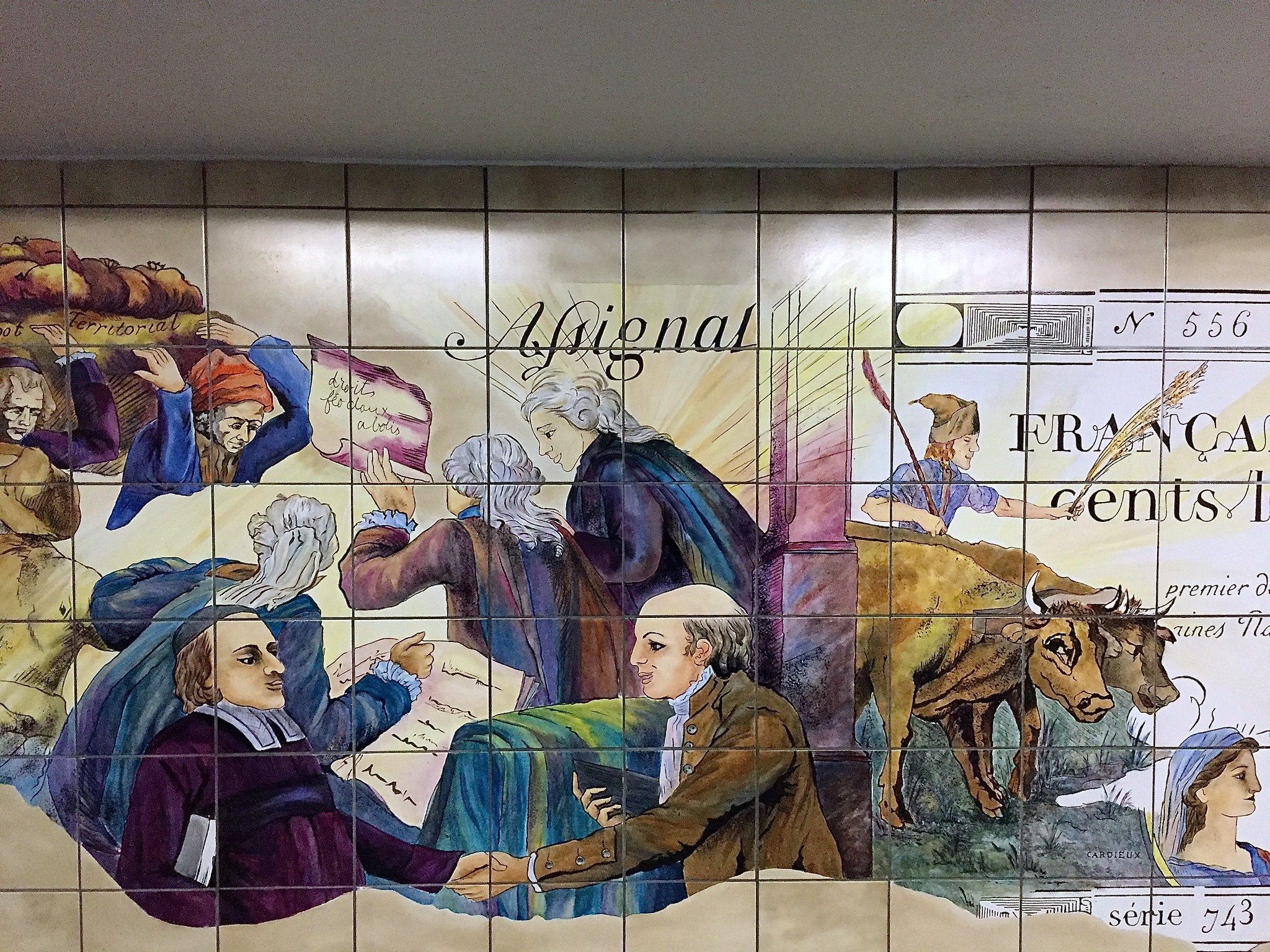 Bastille Paris Metro Staiton