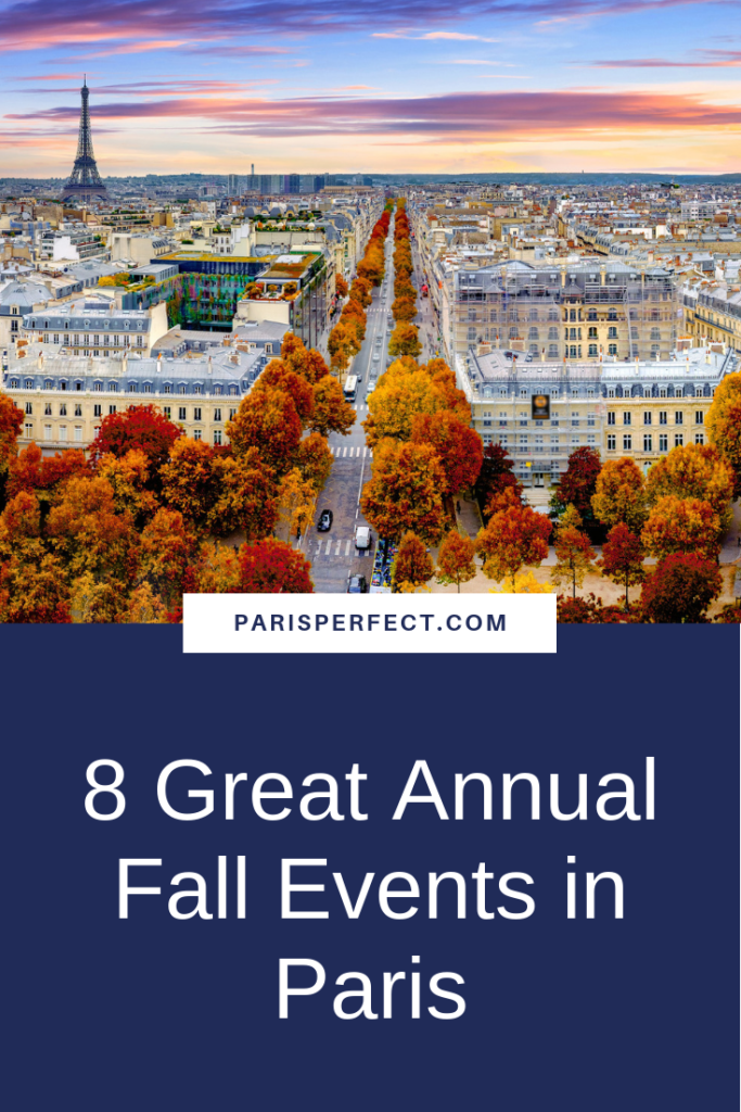 8 Great Annual Fall Events in Paris