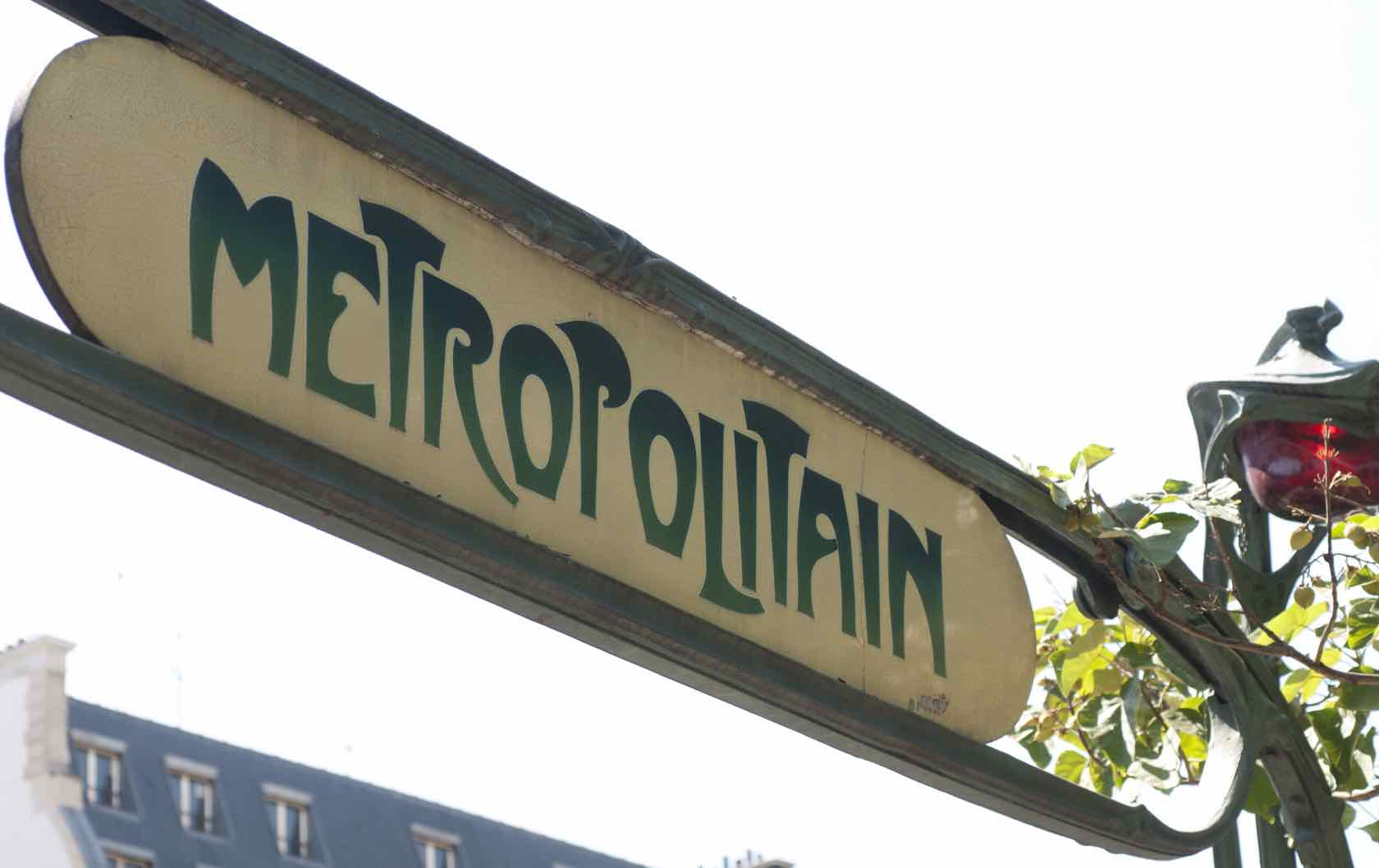 Guide to the Most Picture Perfect Paris Métro Station Entrances