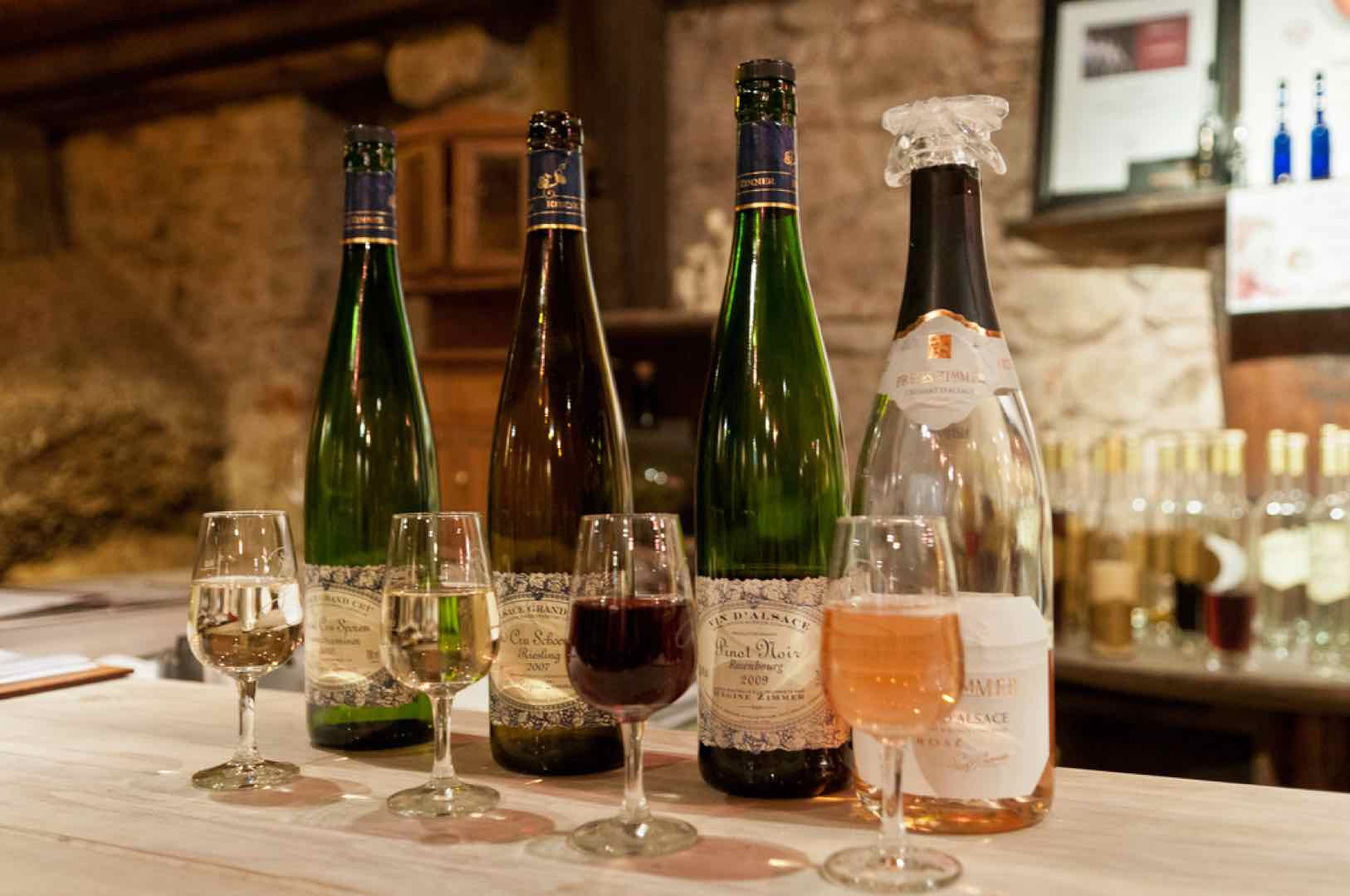 Christmas in Alsace wine