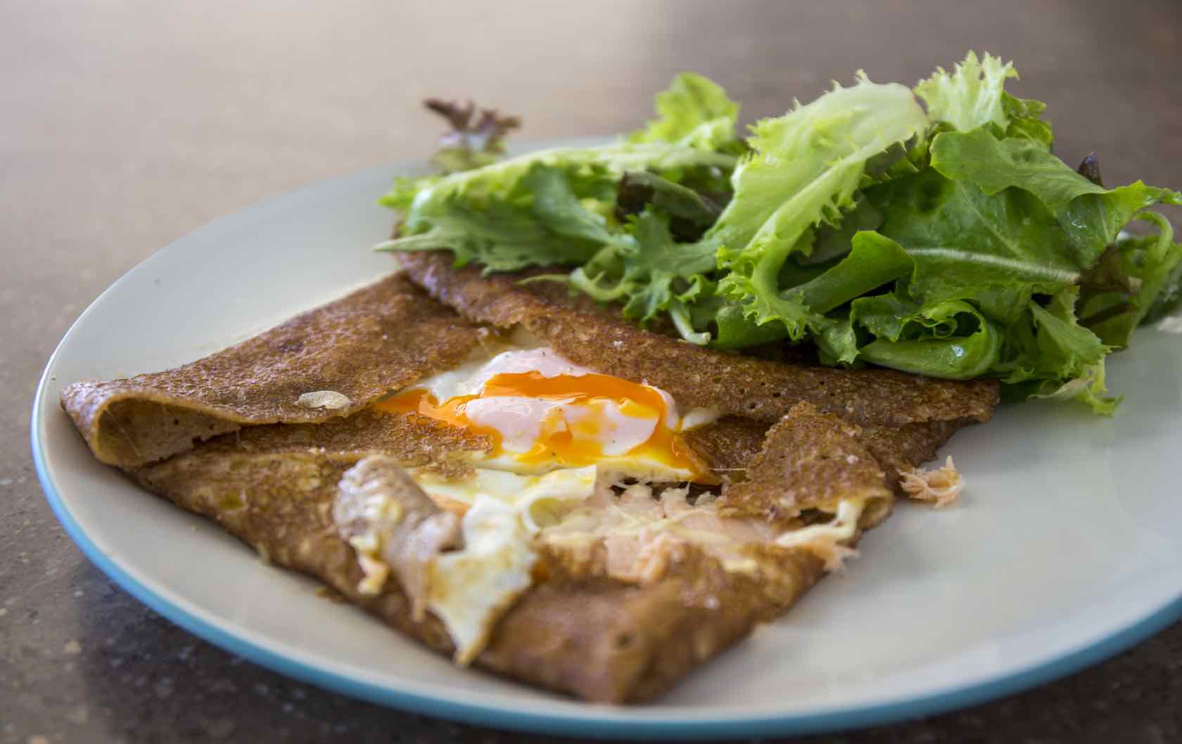 Classic Savory French Dishes Galettes