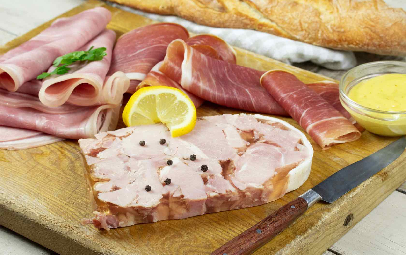 Classic Savory French Dishes Charcuterie