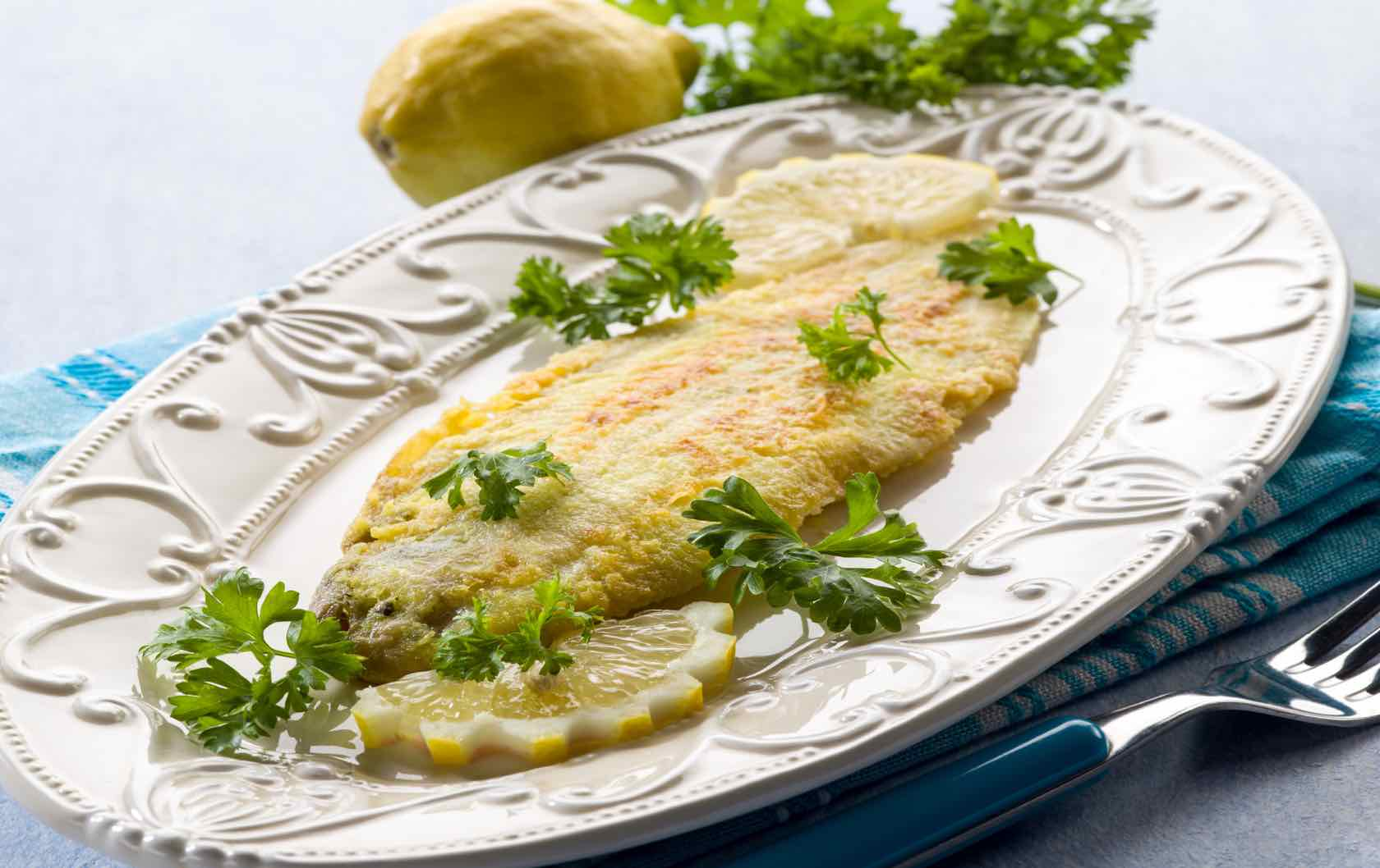 Classic Savory French Dishes Sole Meunière