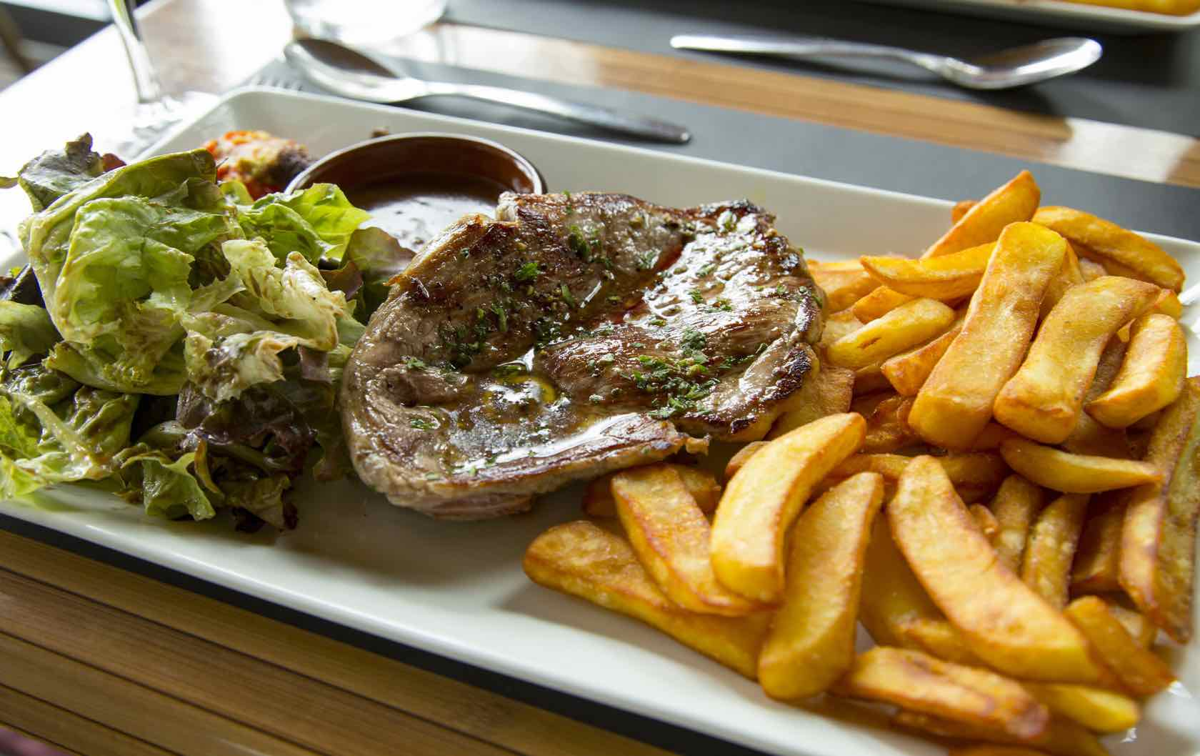 Classic Savory French Dishes Steak frites