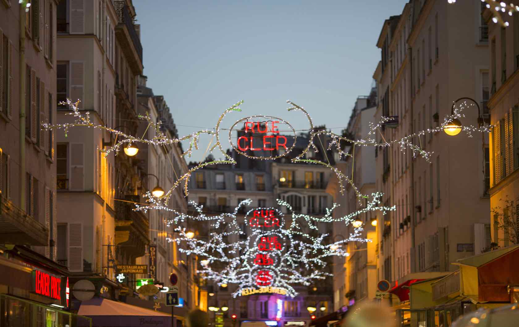 Christmas on Rue Cler Paris