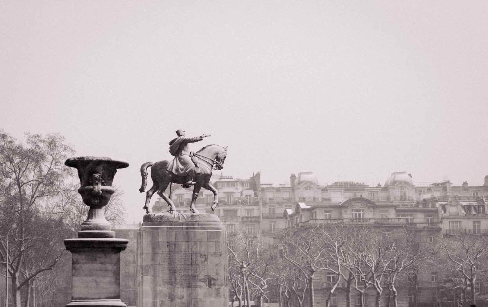 Winter in Paris Champ de Mars