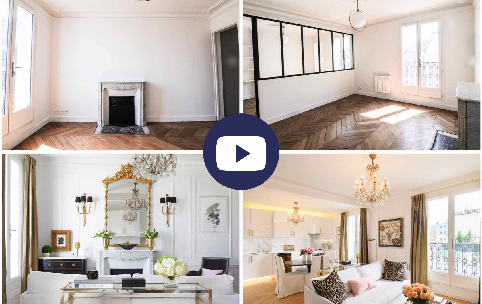 Watch what it's like to Buy and Renovate an Apartment in Paris by Paris Perfect