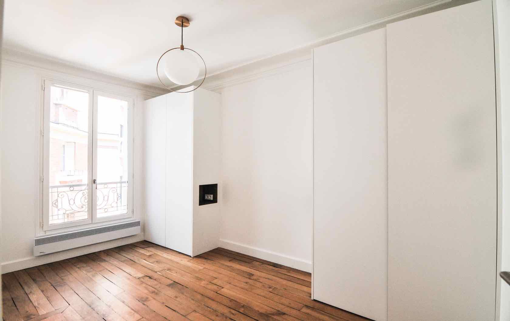 buy and renovate an apartment in Paris