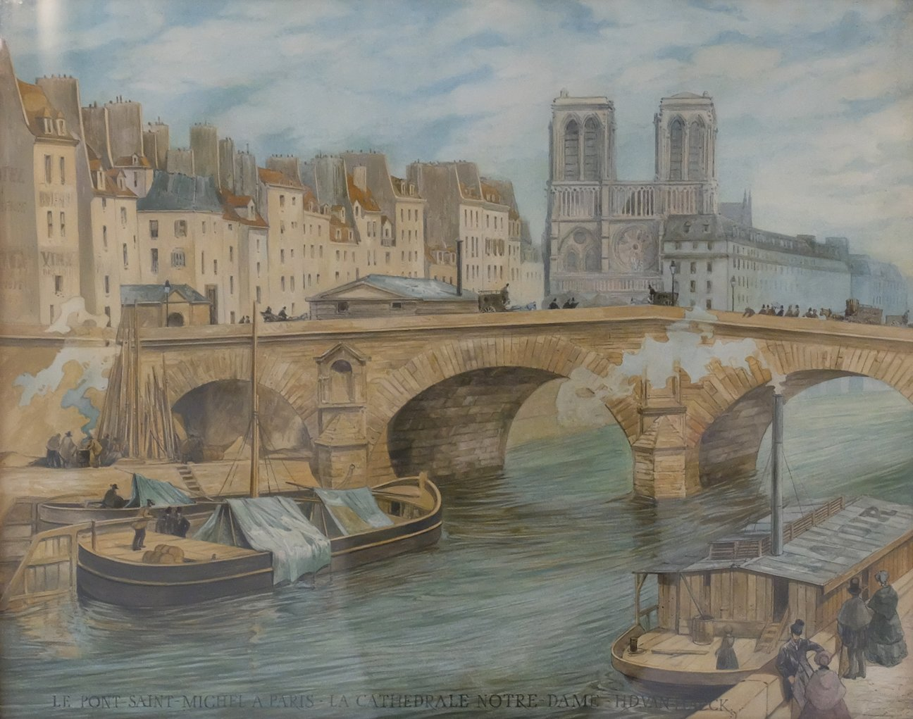 Francophile Gifts original painting