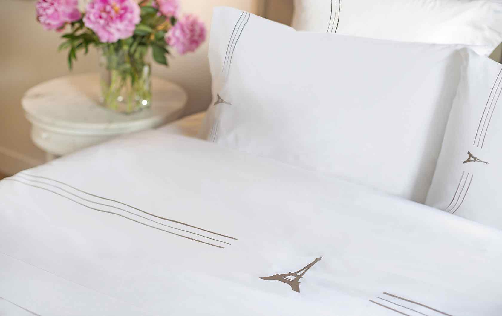 Francophile Gifts Eiffel Tower sheets