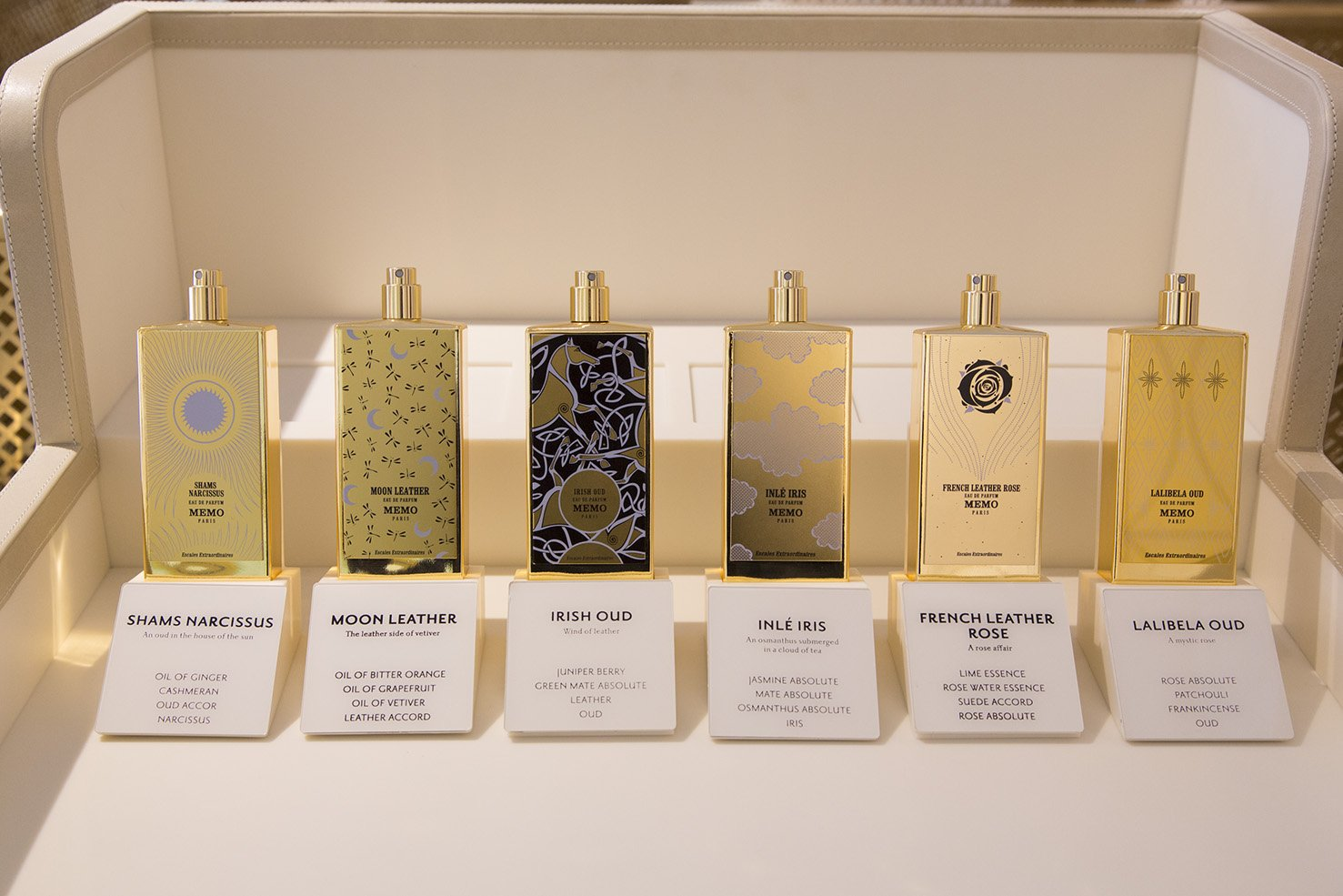 Bespoke Perfumes in Paris Memo
