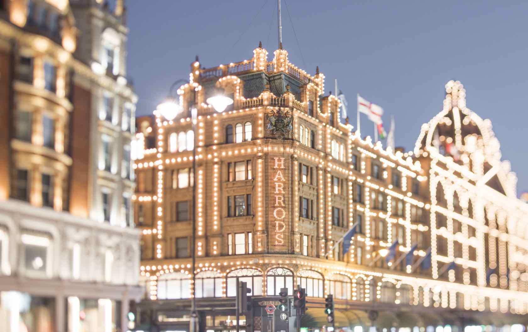 Visit London and Paris in the Winter Harrods