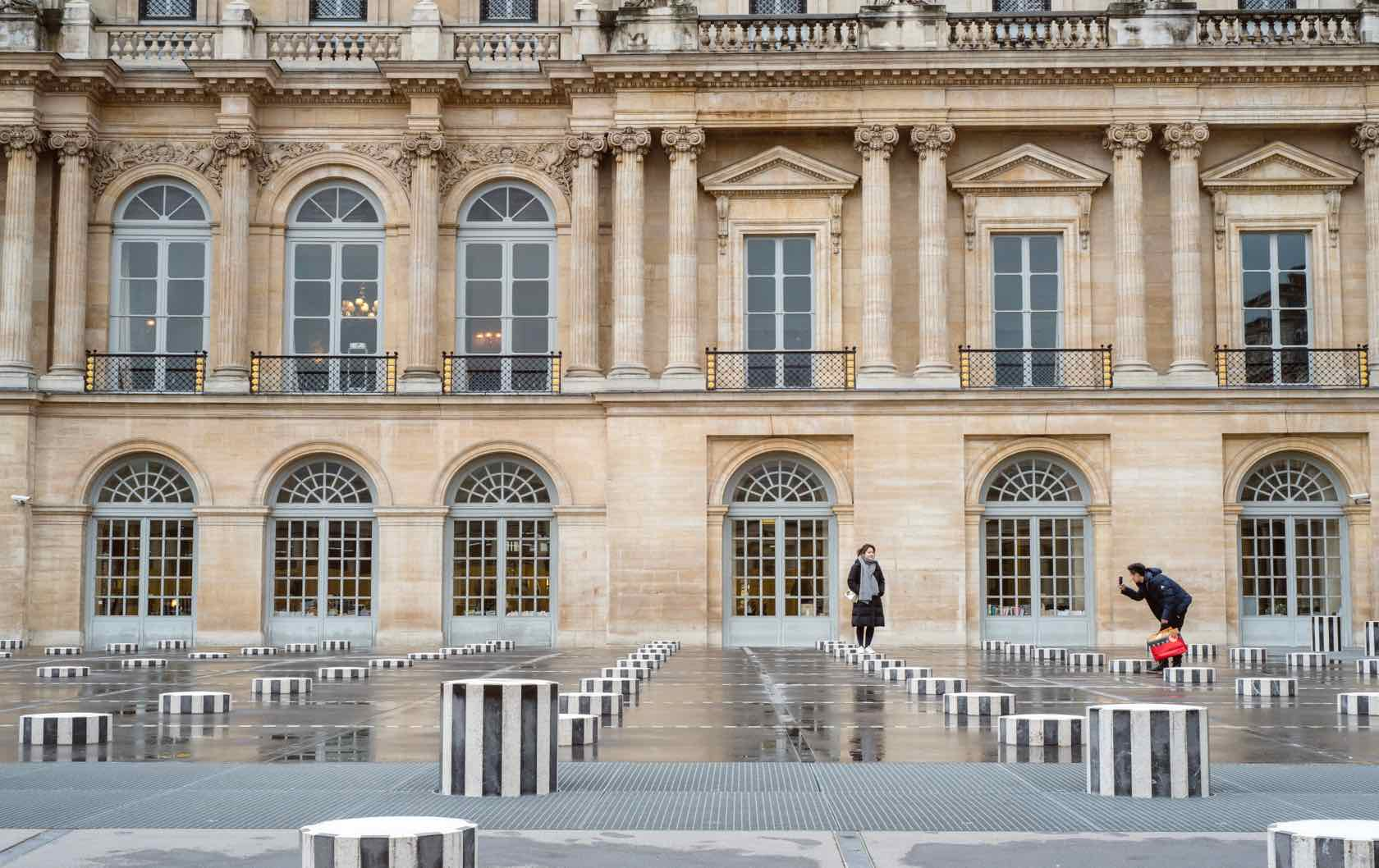 Visit Paris in the Winter Palais-Royal