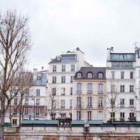 Visit Paris in the Winter Place Dauphine Seine