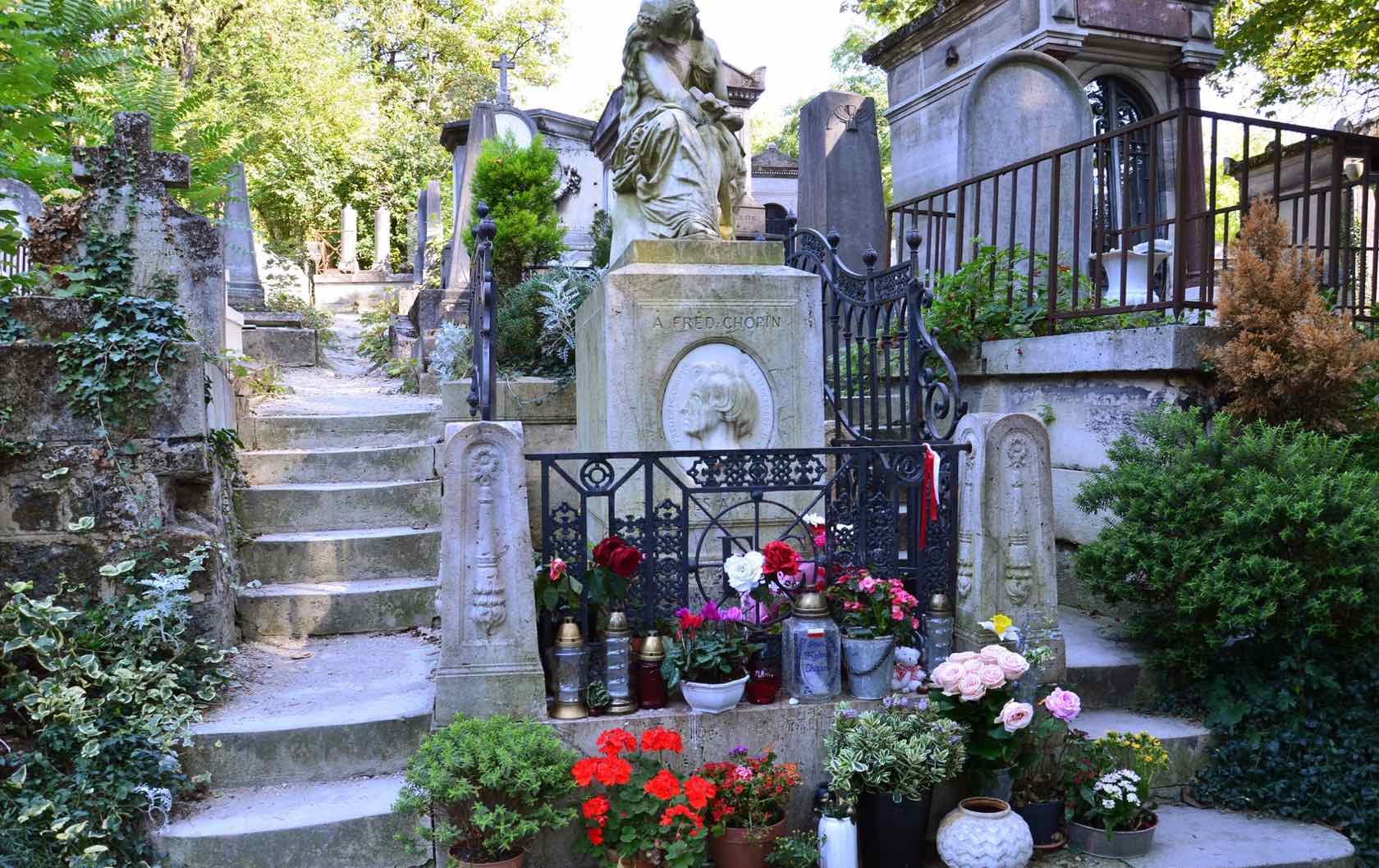 Paris Cemeteries Père Lachaise