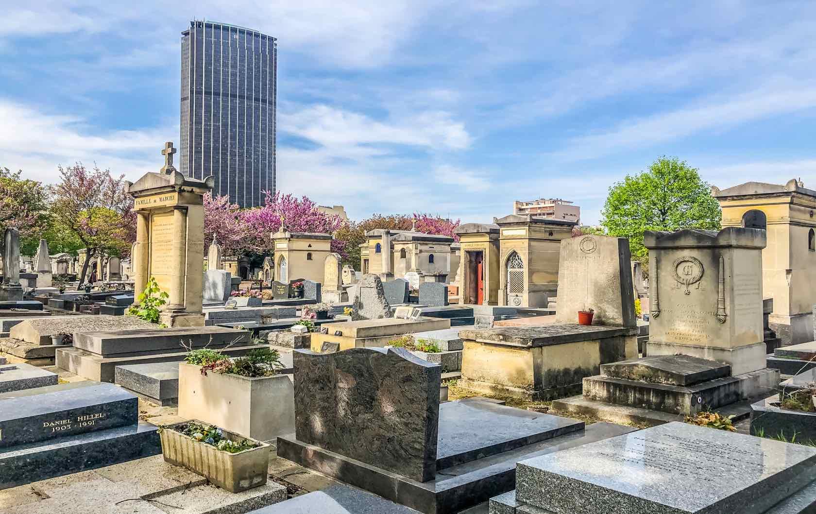 Paris cemeteries Montparnasse