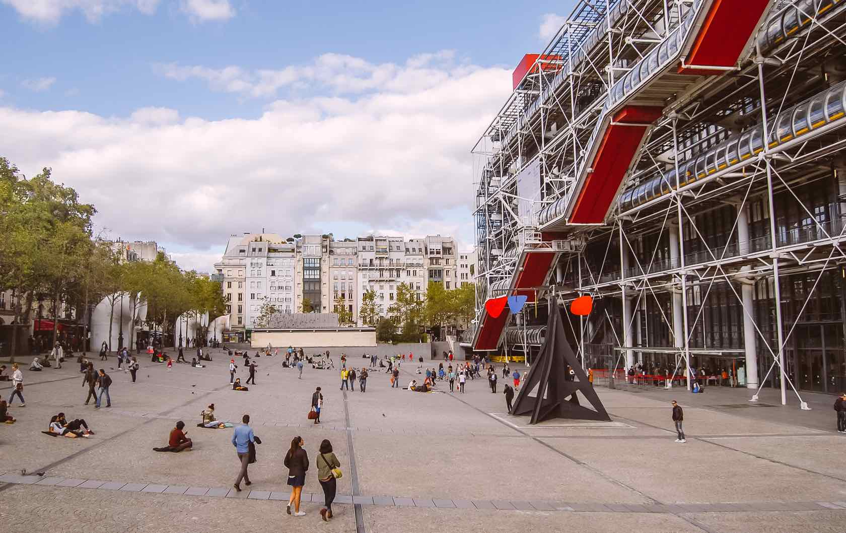 Pompidou Center Paris Visit France in 2020