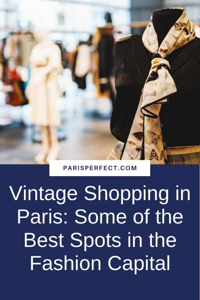 Pinterest vintage shopping in Paris