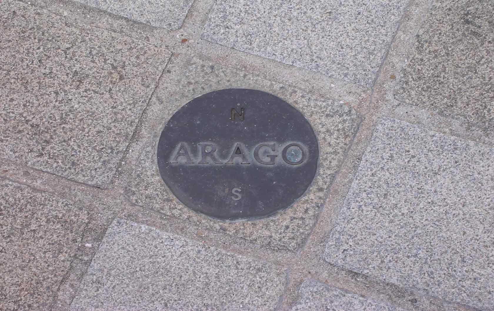 Offbeat Things to See in Paris ARAGO Meridian Markers