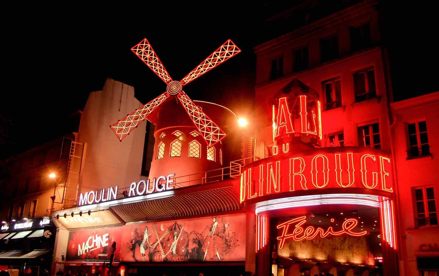 Paris into your home Moulin Rouge