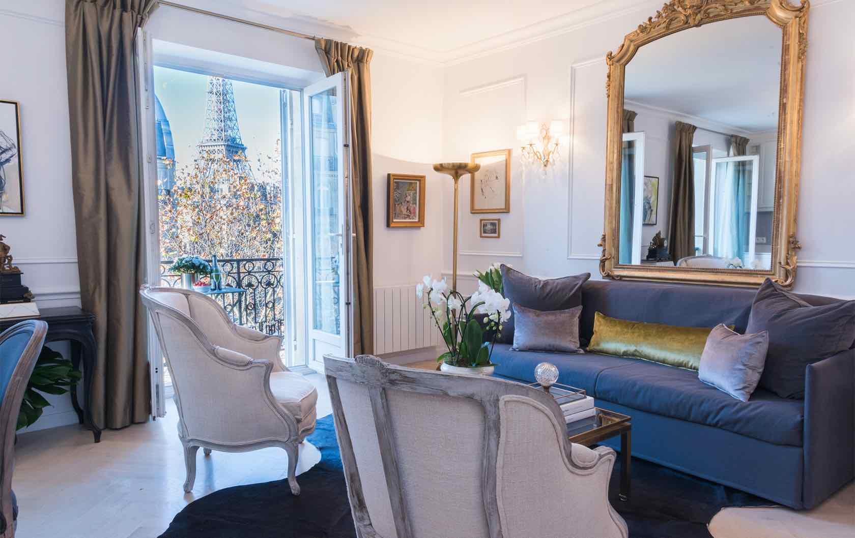 Cairanne Paris fractional apartment living room