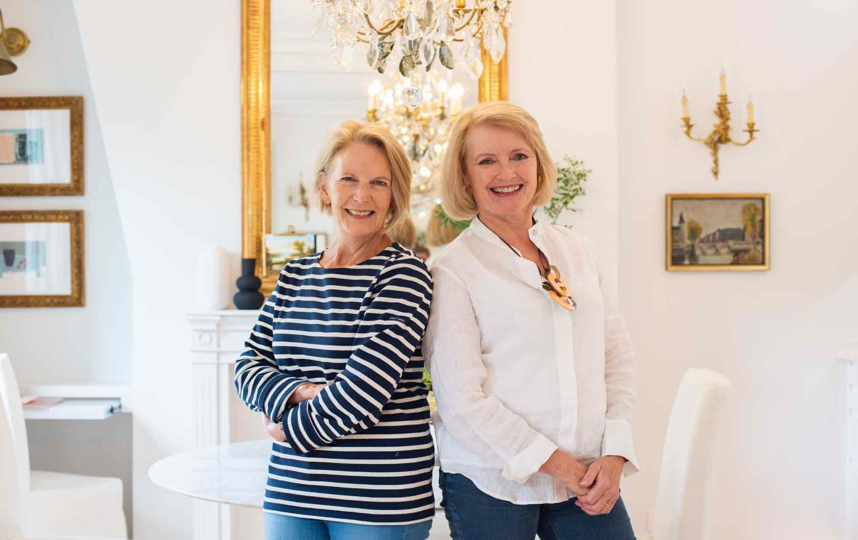 Madelyn Byrne and Ann Huff