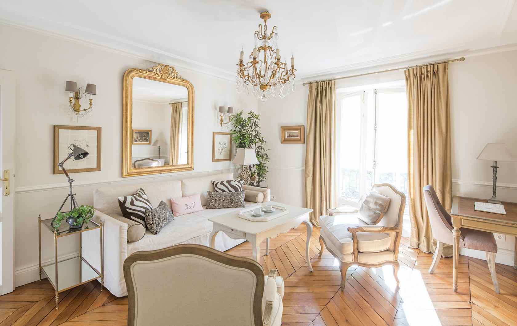 Beaune fractional living room by Paris Perfect Shared