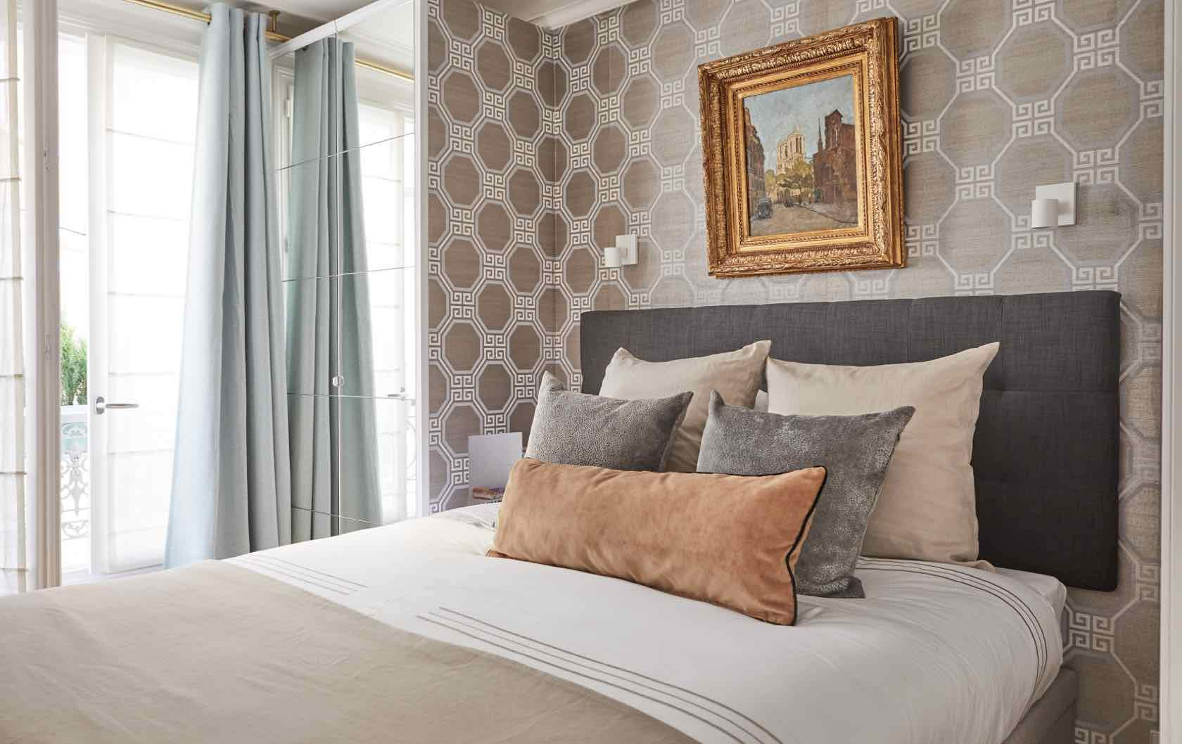 Conti fractional apartment bedroom Paris