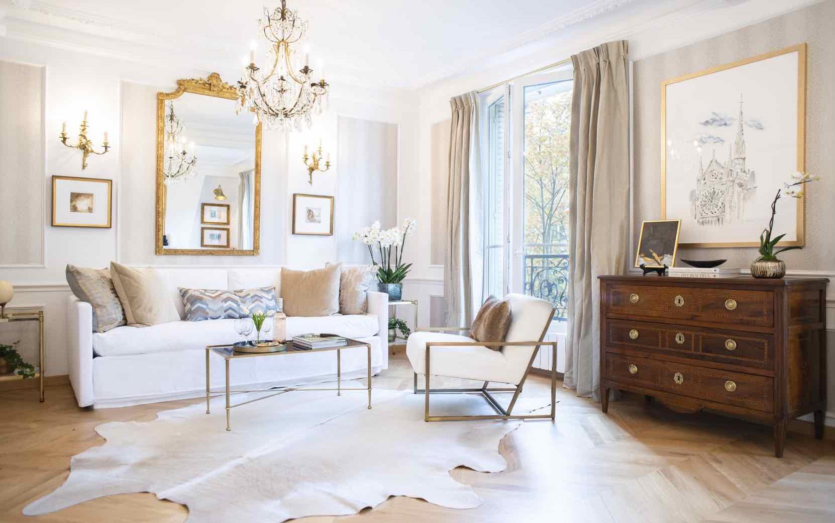 Vivant fractional living room Paris