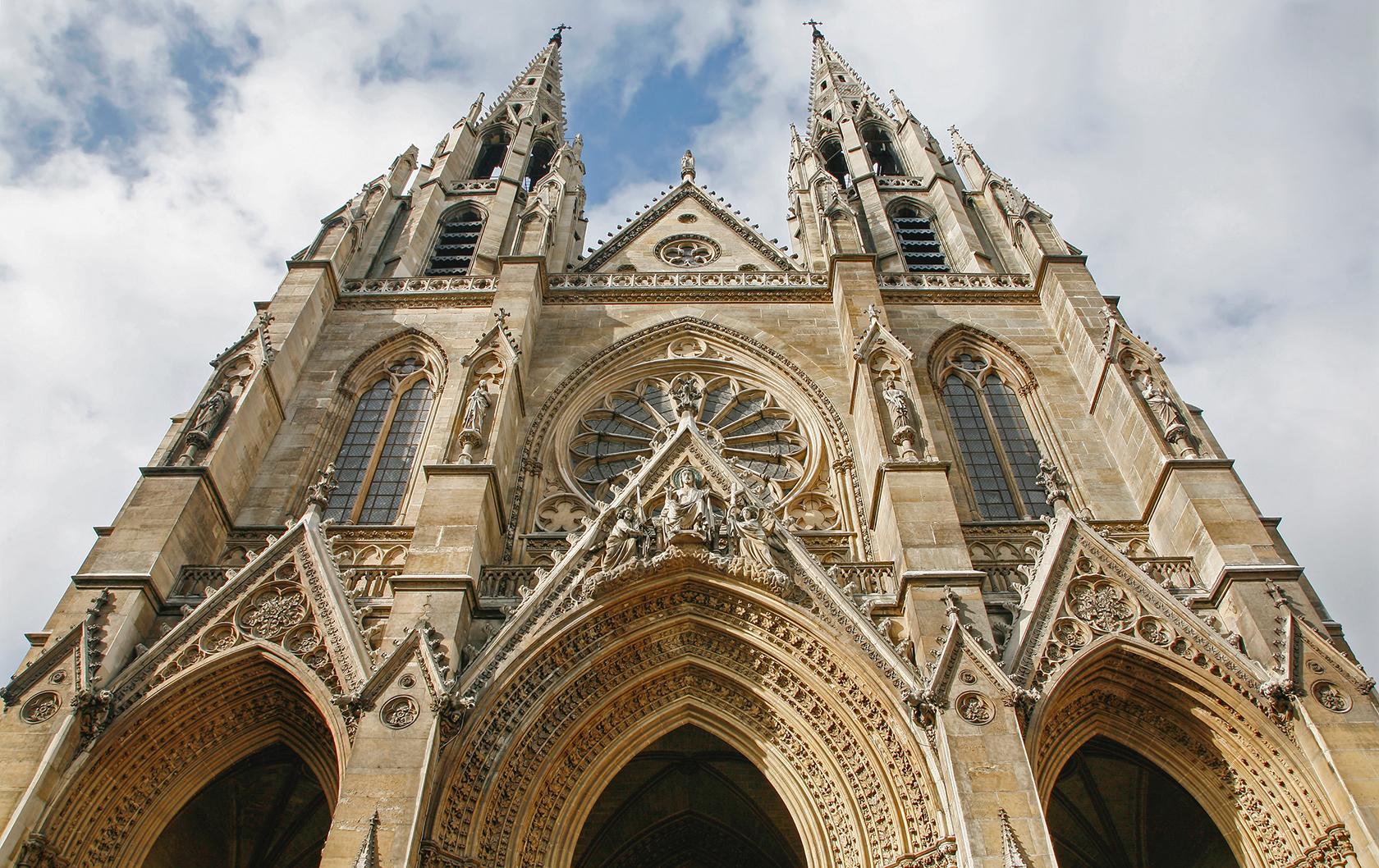 Sainte Clotilde Basilica in Paris