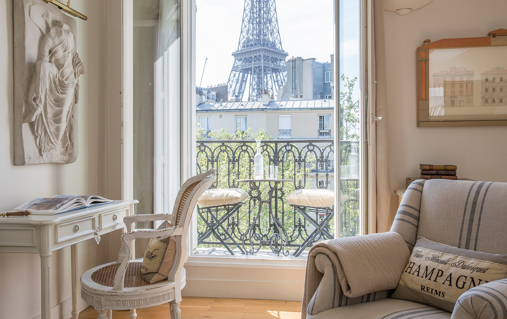 Eiffel Tower view from Cabernet