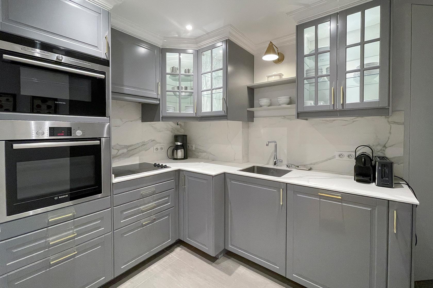 Beaujolais kitchen after