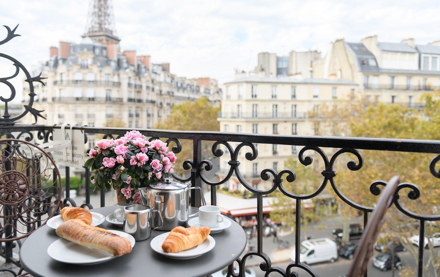 The Beauty of a Parisian Balcony