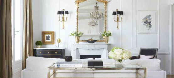 Talking Chic Interiors and Paris Real Estate Remodels with Designer, Ann Huff