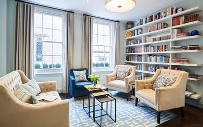 A Look Inside the York House in Kensington: A Serene Sanctuary