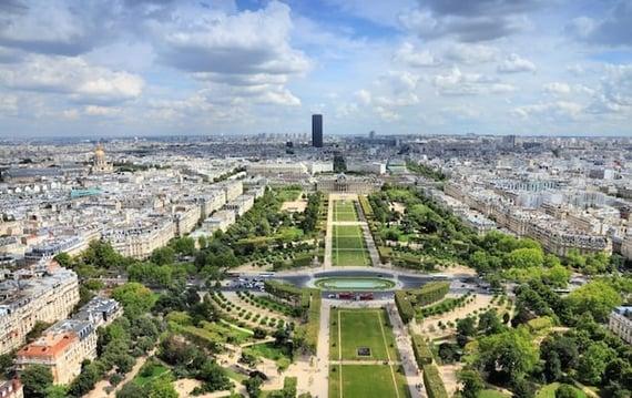 The Champ de Mars Gardens