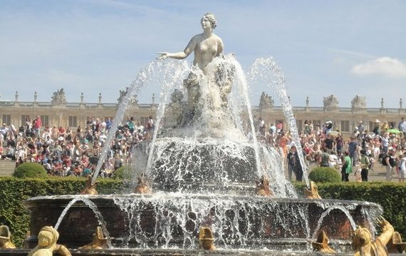 Musical Waters at the Chateau de Versailles