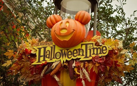 Halloween Party at the Disney Village