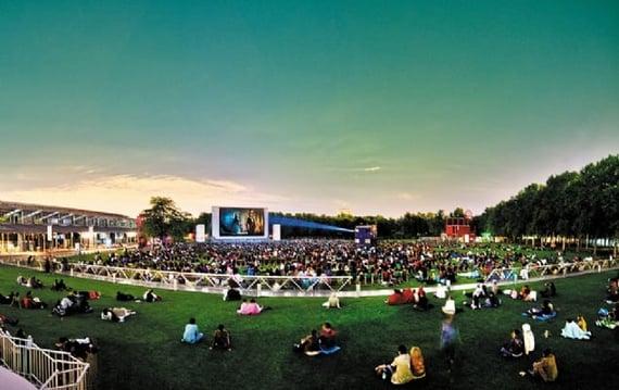 Open Air Cinema at Parc de la Villette
