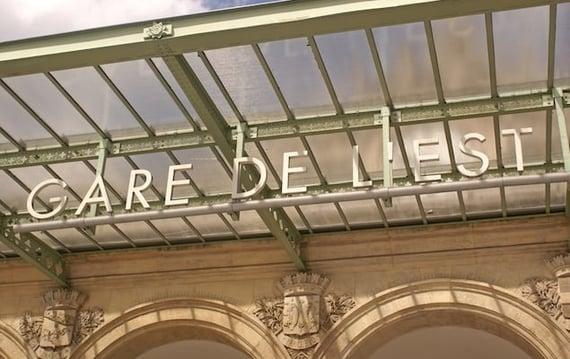 Major Train Stations in Paris
